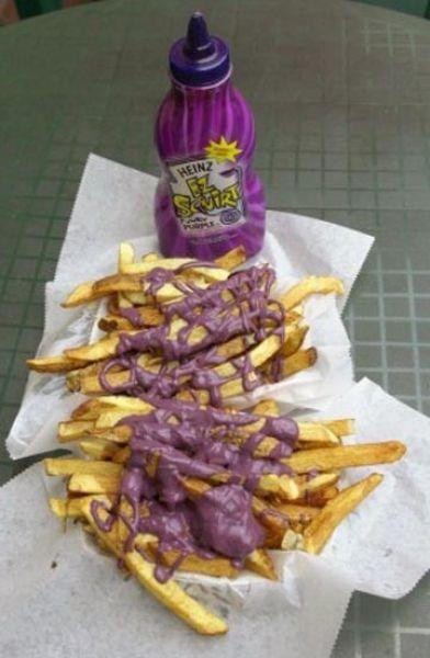heinz purple ketchup